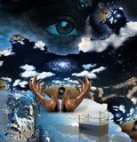 Misterio surrealista Imagenes de archivo