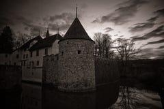 Misterious castle Hallwil Royalty Free Stock Photos