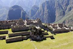 Misterious city of Machu Picchu, Peru. Stock Photos