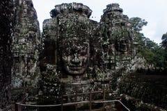 Mistero a Angkor Thom Fotografia Stock
