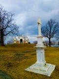 Mistero del monumento di calma di bellezza di primavera Fotografia Stock Libera da Diritti