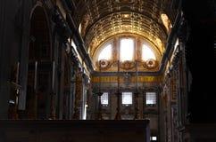 Mistero dentro St Peter & x27; basilica di s Fotografia Stock