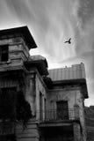 Mistero di vecchia casa Immagini Stock Libere da Diritti