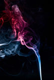 Mistery beautiful smoke Stock Photo