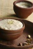 Misti Doi is a popular dessert from India. Mishti Doi or Mishti Dahi or Mitha Dahi translate as sweet dahi or sweet yogurt. This type of yoghurt is common in the Stock Photography