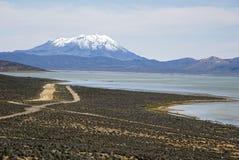 Misti góry krajobrazy obraz stock
