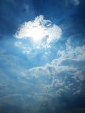 Mistic-Himmel Stockbild