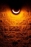 Mistic light. Light at night Stock Photo