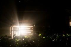 Mistic ray light shine Royalty Free Stock Photos