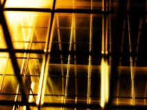 Mistical Rahmenwelt auf Feuer mit Unschärfe Lizenzfreie Stockbilder