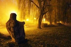 Mistige Avond in Arad Royalty-vrije Stock Foto