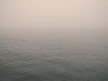 Mistige oceaan Stock Foto's