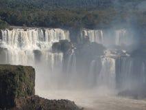 MistIguazu Falls landskap Arkivbilder