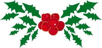 mistletoe royaltyfri illustrationer