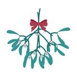 mistletoe ilustración del vector