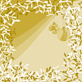Mistletoe greeting card Royalty Free Stock Image