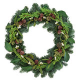 Mistletoe Wreath Royalty Free Stock Photography