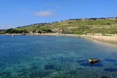 Mistra Bay Malta Stock Images