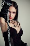 Mistress from Hell Royalty Free Stock Images