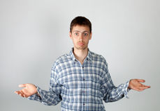 Mistrust and doubt Stock Images