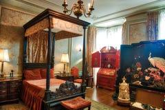 Mistrz sypialni Casa Loma Toronto Zdjęcie Royalty Free