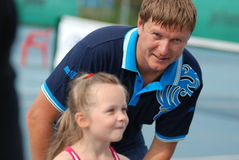 mistrza kafelnikov olimpijski tennesist yevgeny Obrazy Royalty Free
