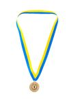 mistrza złotego medalu taśma Zdjęcie Stock