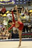 mistrzostw gimnastyk włoch rytmiczny Zdjęcia Royalty Free