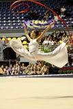mistrzostw gimnastyk włoch rytmiczny Obrazy Stock