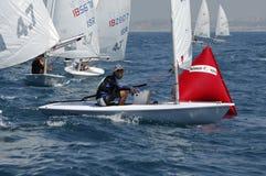 mistrzostwa Israel jachtu młodość obraz royalty free
