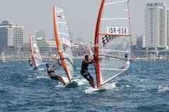 mistrzostwa Israel jachtu młodość zdjęcia stock