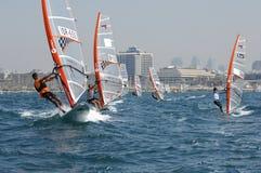 mistrzostwa Israel jachtu młodość obraz stock