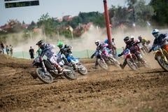 mistrzostwa motocross mx3 Slovakia wmx świat Zdjęcia Stock