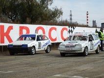 Mistrzostwa Omsk regionów filiżanka SibADI Fotografia Stock