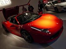 mistrzostwo Ferrari zdjęcia royalty free