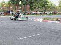 Mistrzostwo Omsk region na lecie karting Obraz Stock