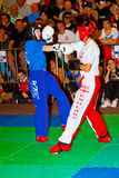 mistrzostwo światu kickboxing mistrzostwo 2011 Obraz Royalty Free