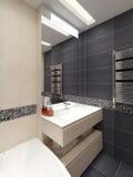 Mistrzowska łazienka w nowożytnym stylu ilustracja wektor