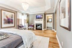 Mistrzowski łóżkowy pokój Fotografia Royalty Free