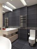 Mistrzowskiej łazienki współczesny styl ilustracji