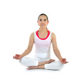 mistrzu jogi kobiety zdjęcia stock