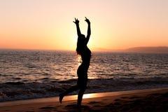 mistrzu jogi kobiety Obraz Royalty Free