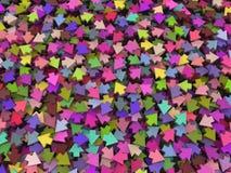 Mistura colorida das setas pequenas Fotos de Stock
