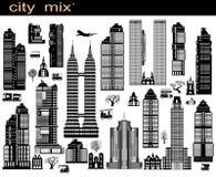 Mistura da cidade Imagens de Stock