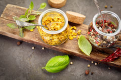 Mistura da especiaria da pimenta Fotografia de Stock