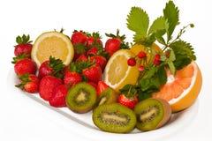 Mistura da fruta fotografia de stock
