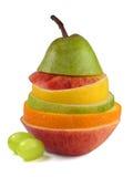 Mistura da fruta Imagem de Stock Royalty Free