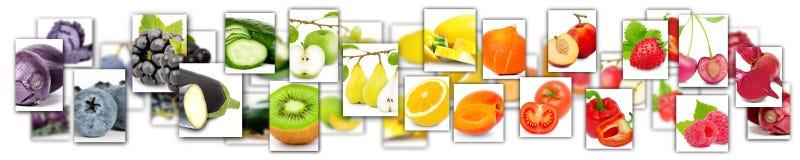 mistura da fruta e verdura ilustração stock