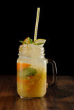 Mistura da laranja, do limão e do cal Imagens de Stock
