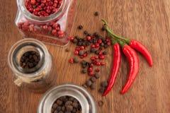 Mistura da pimenta Imagem de Stock Royalty Free